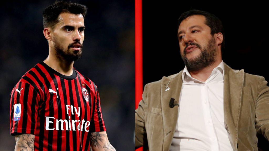 """Suso se engancha con el líder de extrema derecha italiano Matteo Salvini: """"Administra mejor el país"""""""