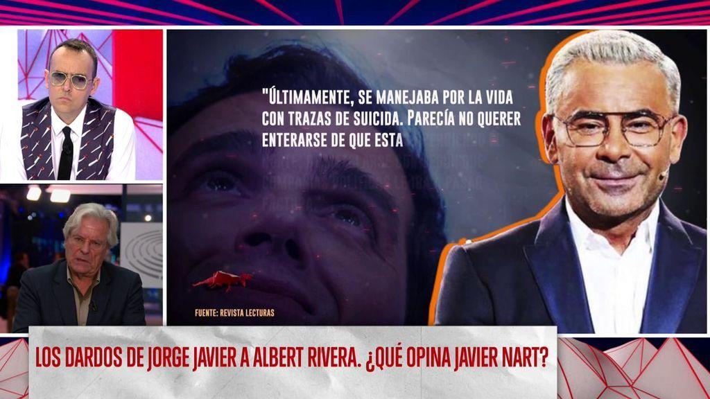 """Jorge Javier, sobre Albert Rivera: """"Si yo fuera él, me largaría a un país de sol permanente y me dedicaría a bailar bachata"""""""