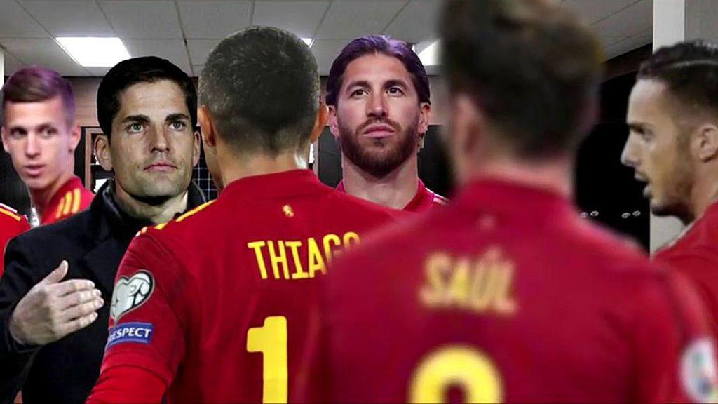 """Del """"no me jodas que Robert no sigue"""", al """"Lucho no viene, ni de coña"""": las frases del vestuario de la Selección en el Metropolitano"""