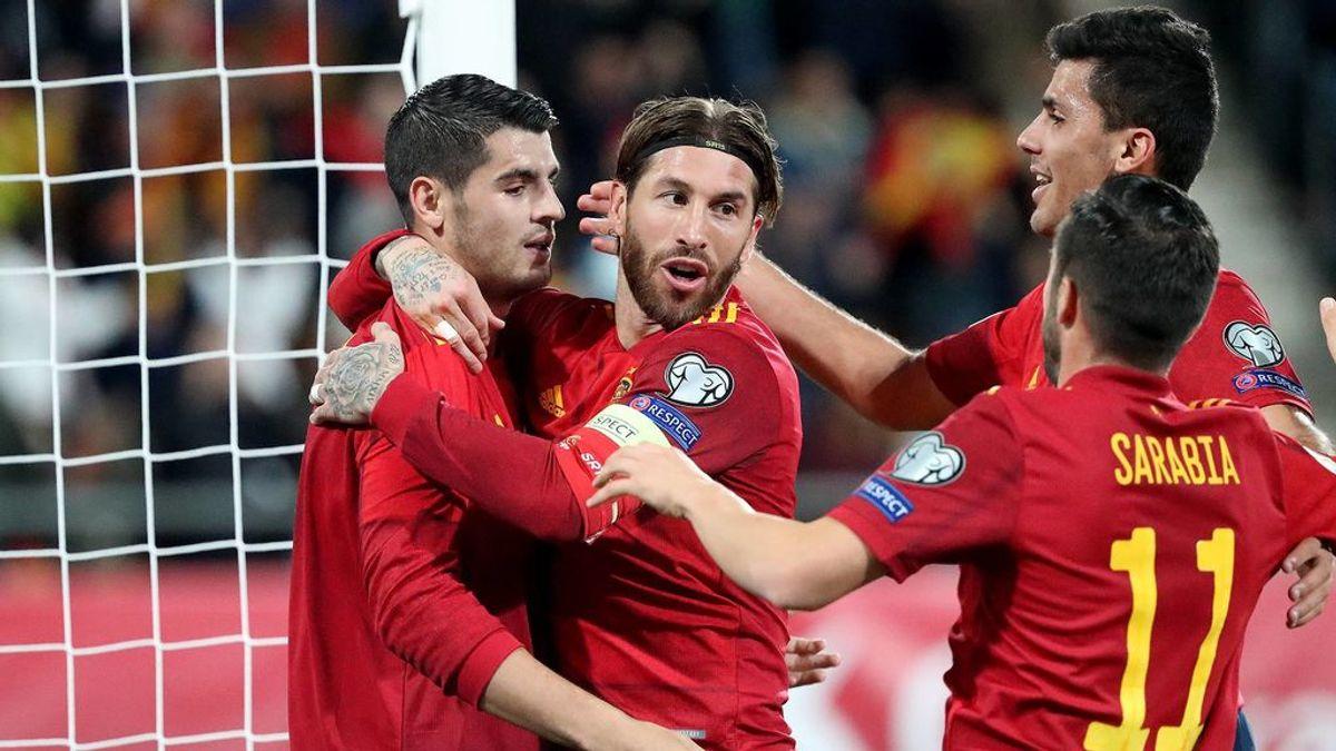 Los 20 clasificados para la Eurocopa 2020: España, cabeza de serie y jugará sus partidos en San Mamés