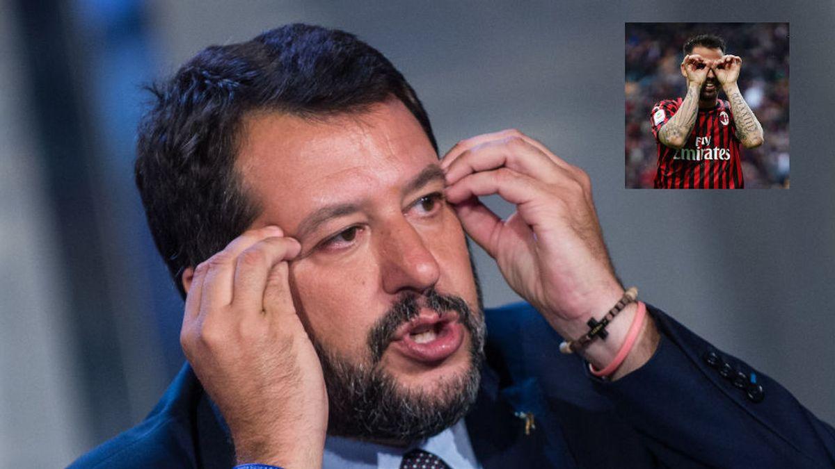 Matteo Salvini y Suso