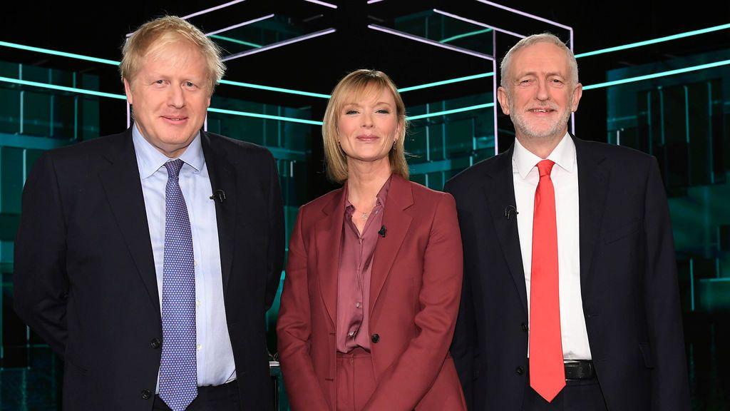Sin claro vencedor en el primer cara a cara entre Johnson y Corbyn