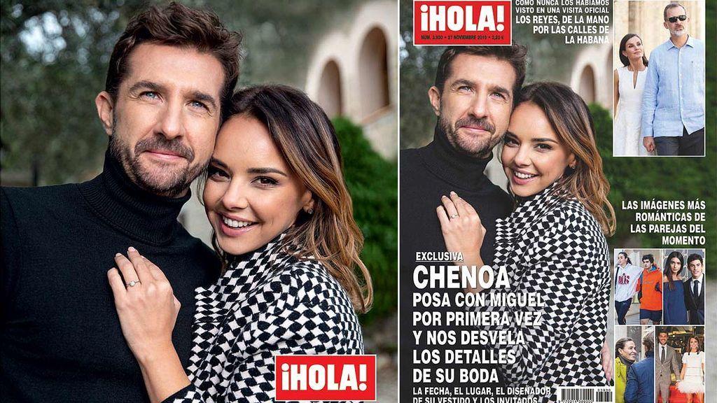 Cheno y Miguel posan por primera vez y desvelan los detalles de su boda
