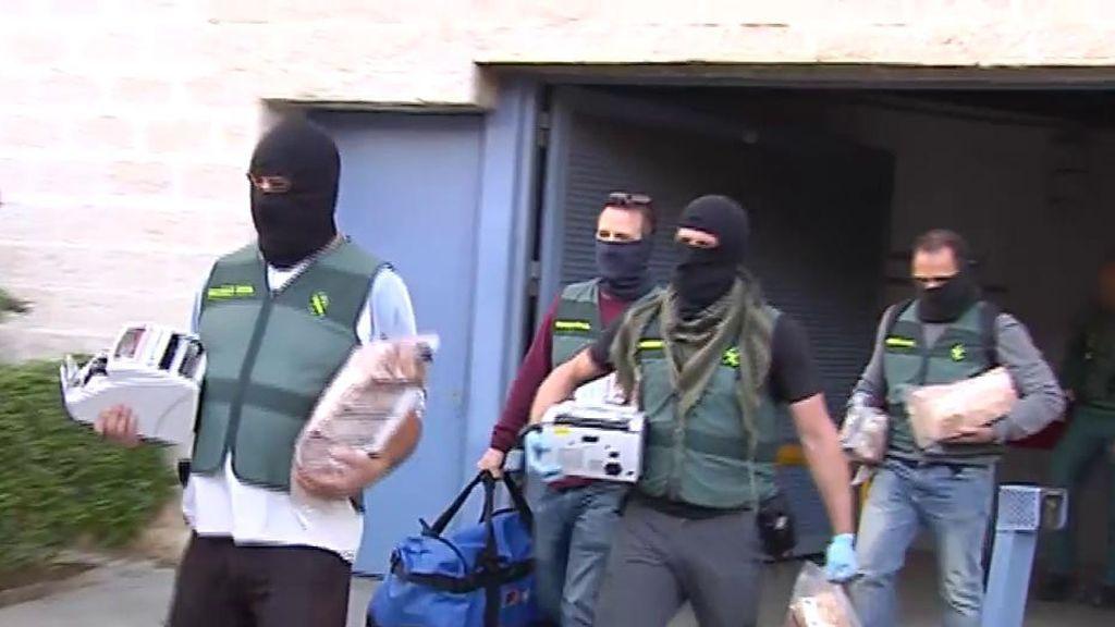 Macrooperación contra el narcotráfico en Andalucía