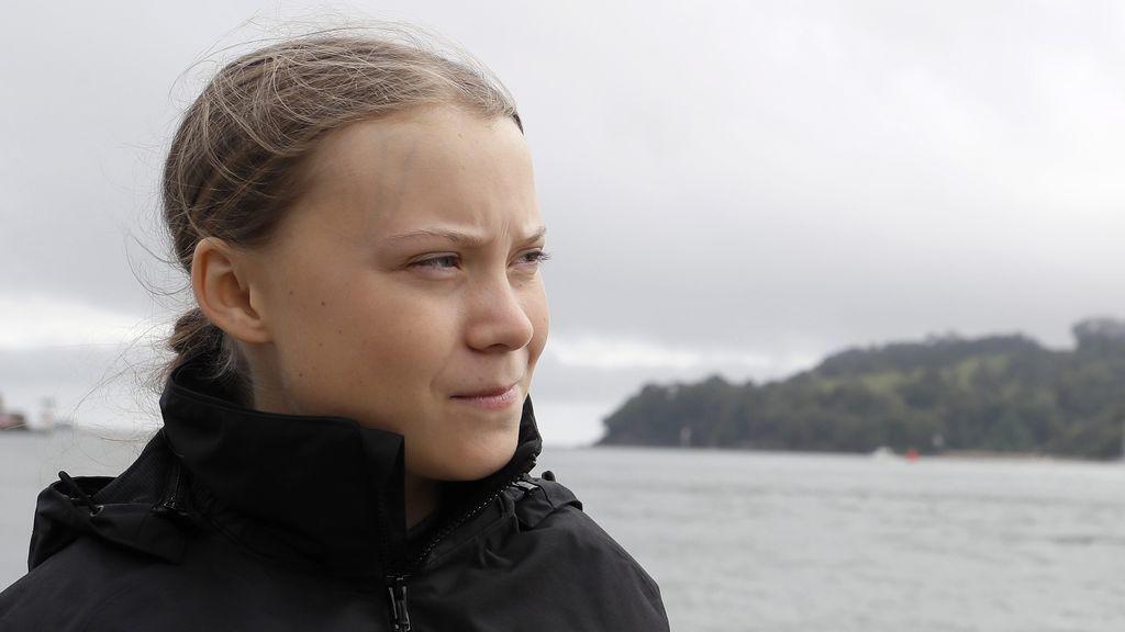 Greta Thunberg viaja en el tiempo para salvarnos a todos