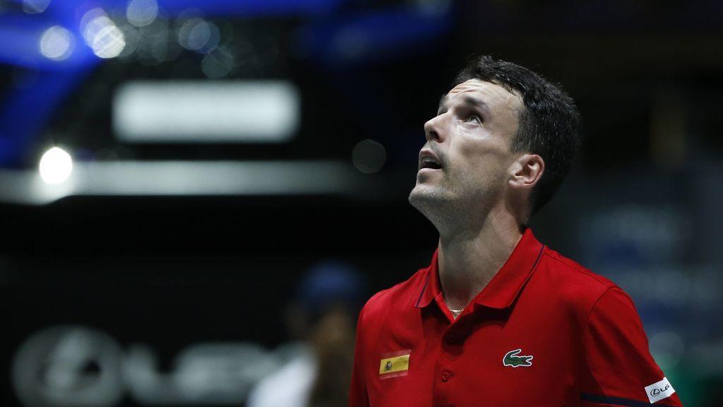 Bautista abandona el equipo español de tenis por problemas de salud de su padre: Pablo Carreño podría sustituirle