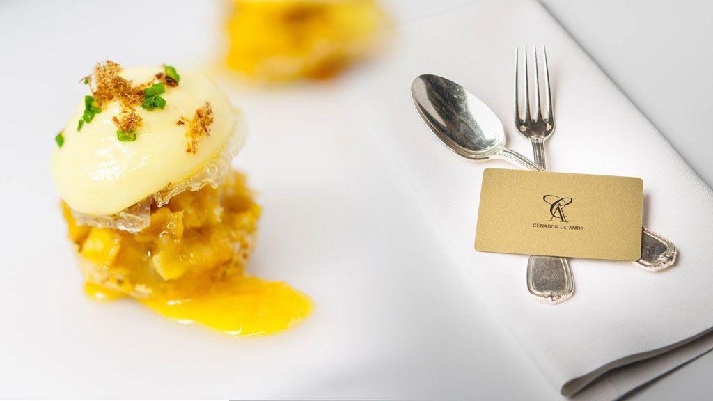 Así es la tortilla montañesa, uno de los platos más representativos del Cenador de Amós
