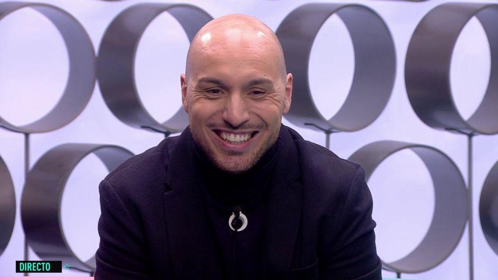 """Antón reacciona a las dudas de Noemí sobre un posible embarazo: """"No hay cosa más bonita que se forme en 'GH"""""""