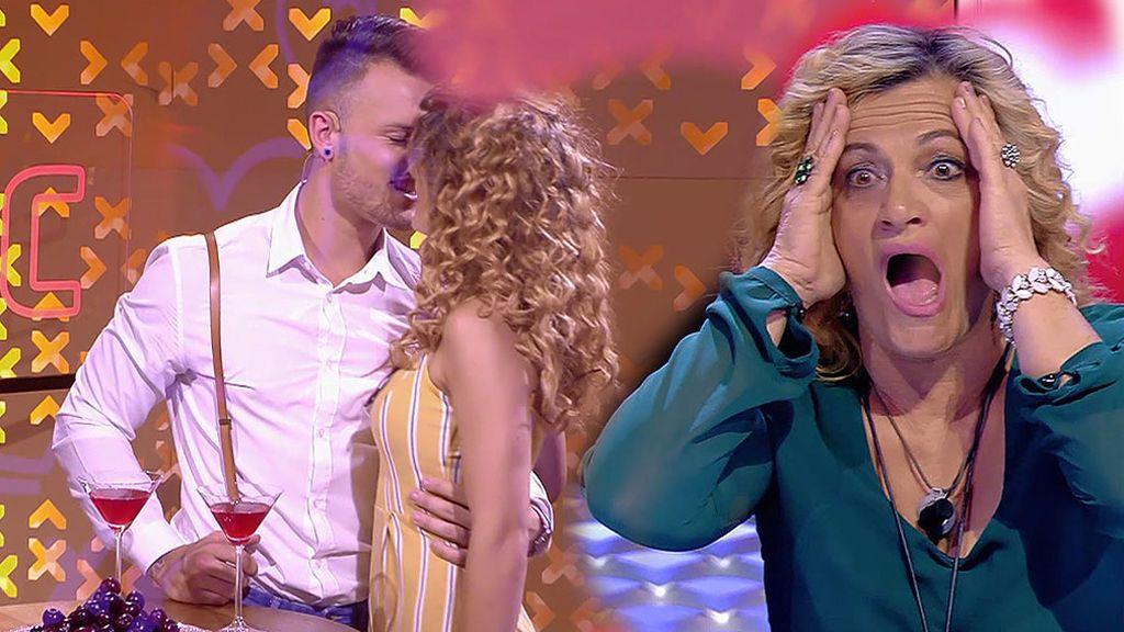 Andreu y Melody tienen un flechazo y Paqui se vuelve loca de alegría