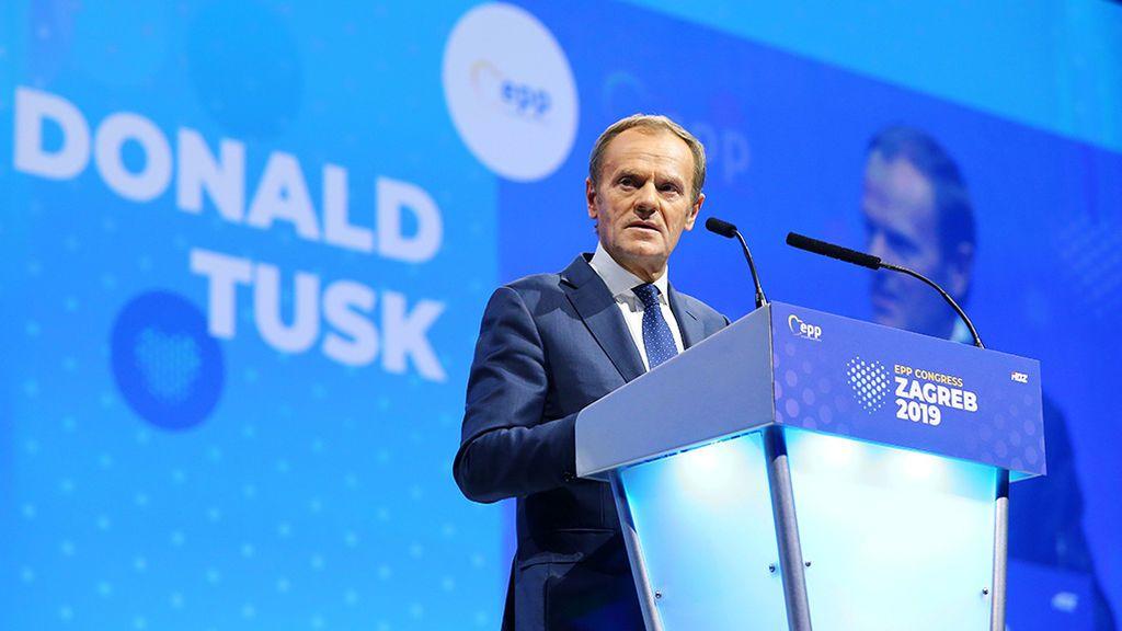 El Partido Popular Europeo elige a Donald Tusk como su nuevo presidente