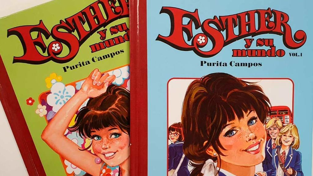 Muere  a los 82 años Purita Campos, la creadora de 'Esther y su mundo'