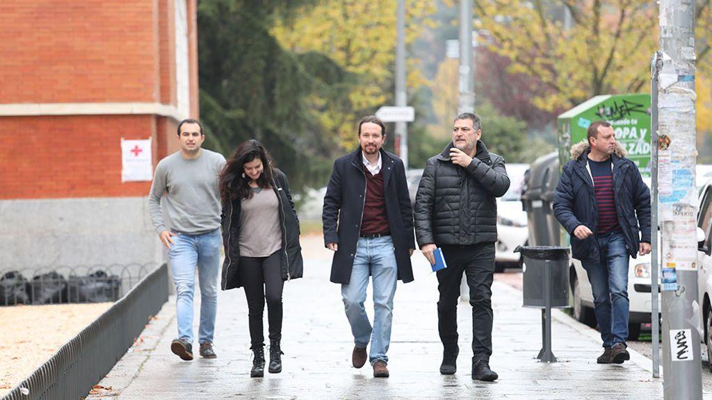 Iglesias optimista sobre las negociaciones con el PSOE
