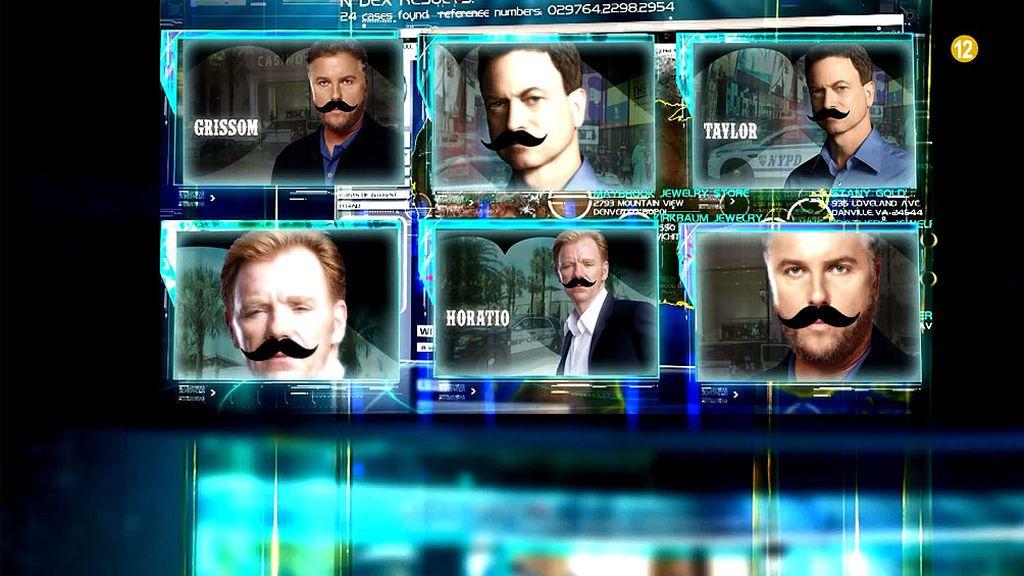 Ponte bigote junto a los protagonistas de nuestras mejores series en Movember