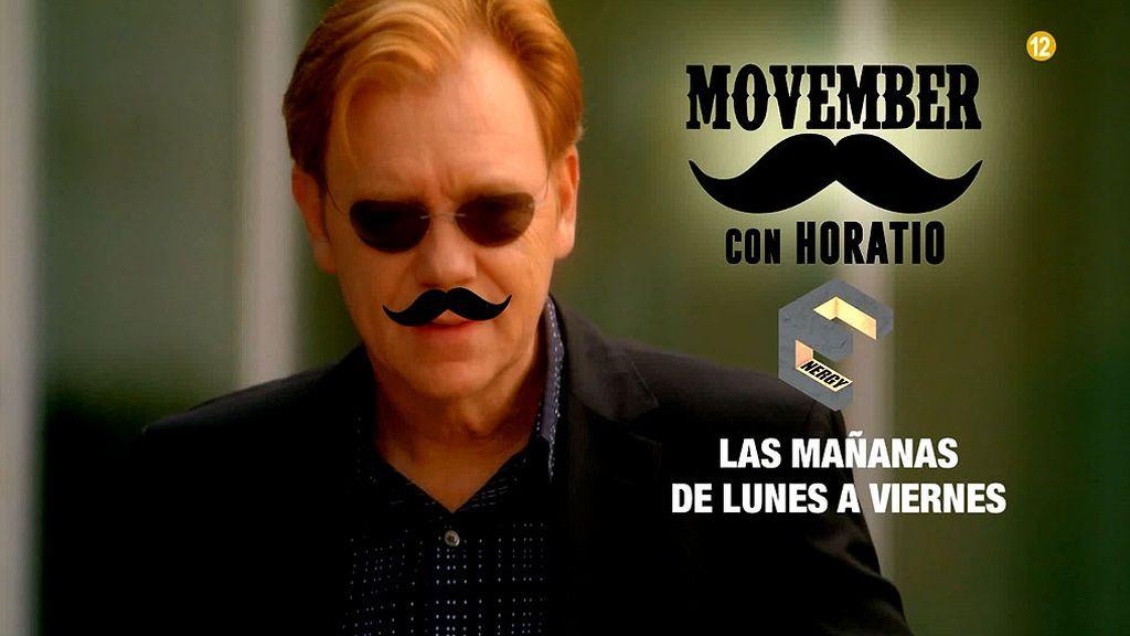 E.Energy  y Horatio también se une al Movember