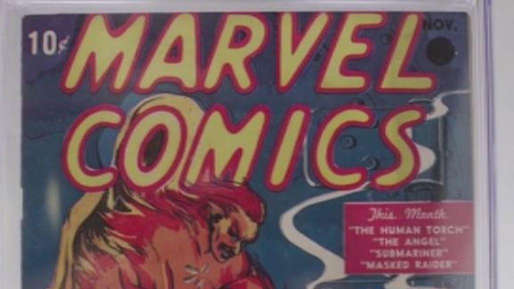 El primer cómic de la saga Marvel alcanza un precio récord de 1,2 millones de dólares