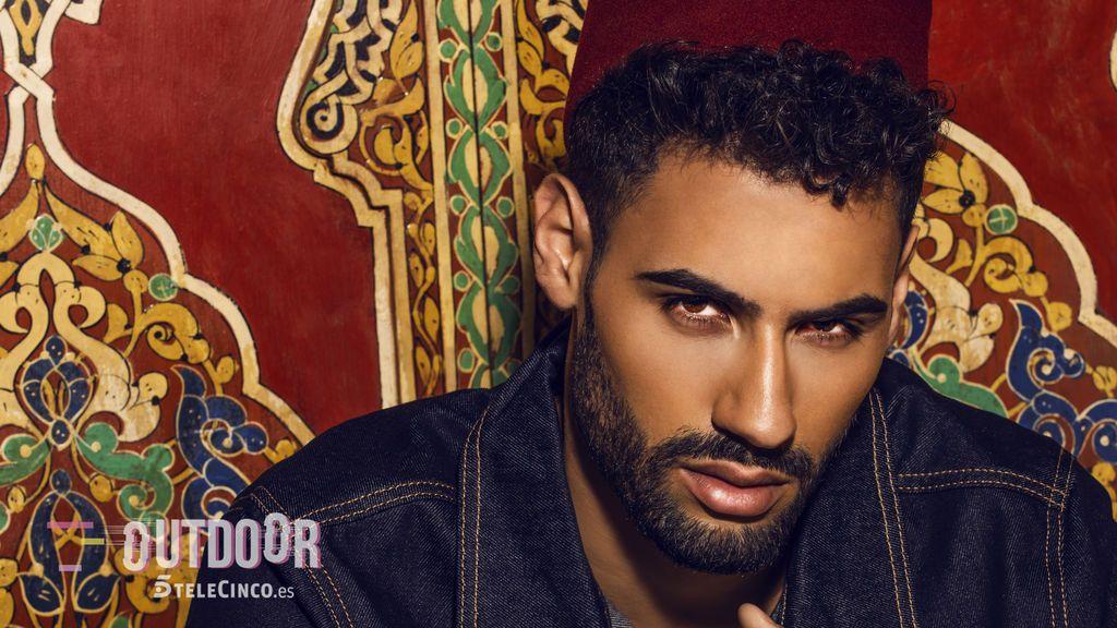 De Fuenlabrada al universo marroquí: Asraf Beno 'GH' posa para para Outdoor