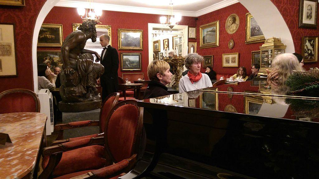 Interior Caffe Grecco en Roma