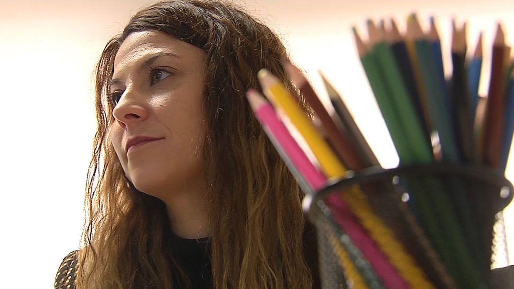 Maite Rubio es trabajadora social en la oficina de Valencia