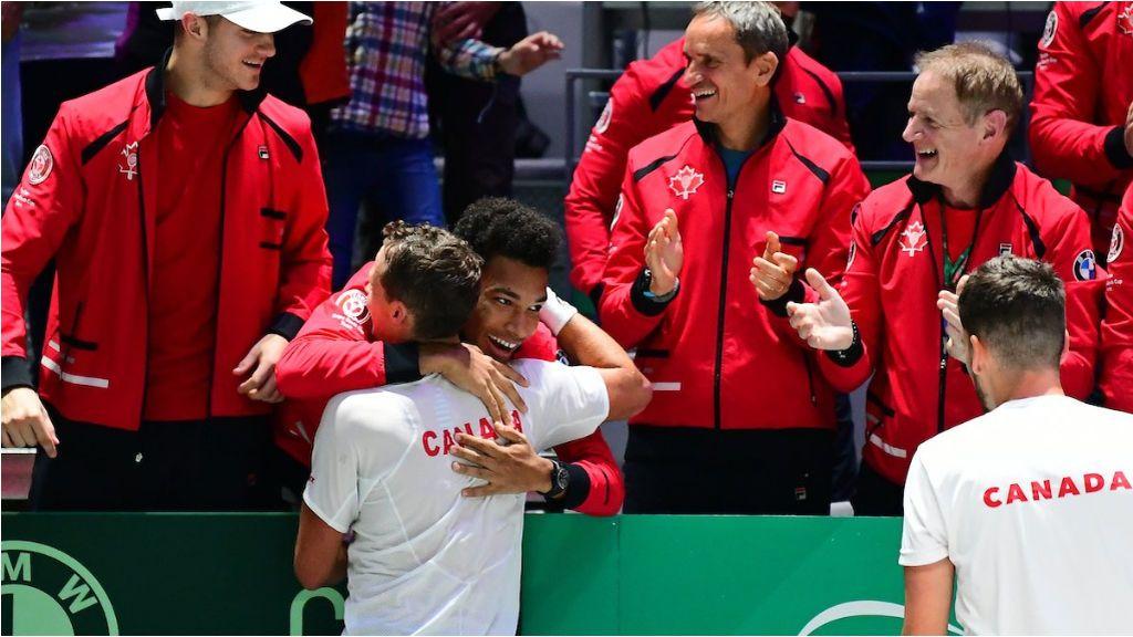 Canadá, primera selección semifinalista de la Copa Davis