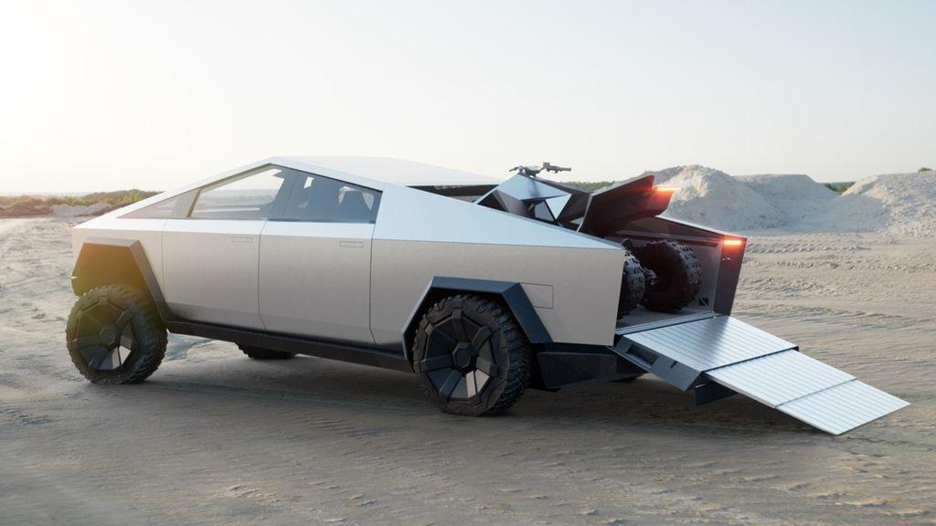 Tesla presenta su camioneta eléctrica 'Cibertruck', un homenaje a Blade Runner