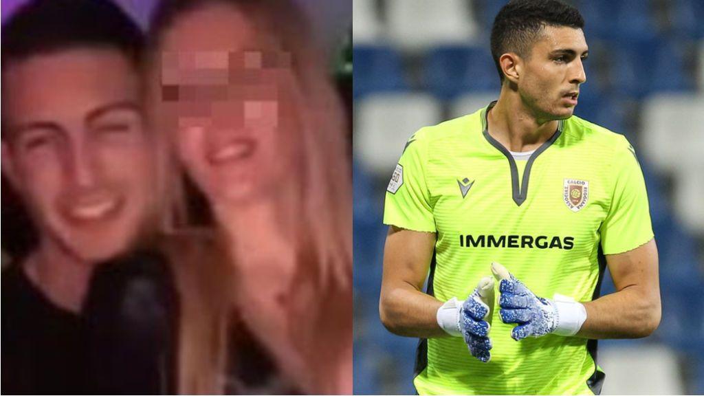 El vídeo de  Voltolini, portero italiano, practicando sexo en un baño se hace viral en  WhatsApp : su club le ha apartado del equipo