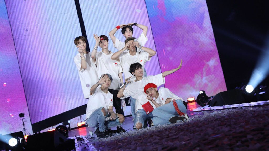 El grupo de pop coreano BTS