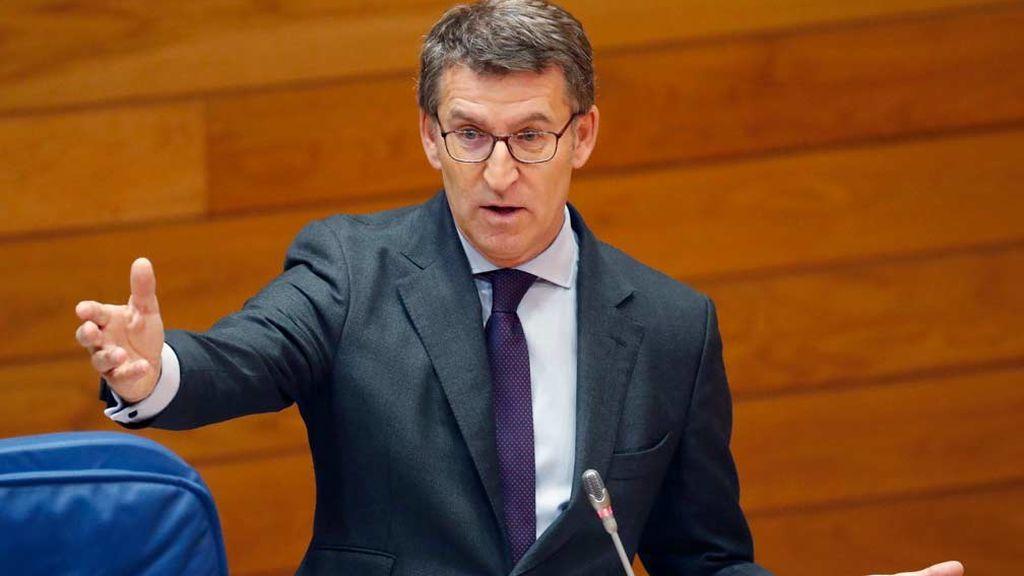 """Nuñez Feijóo apuesta por buscar """" fórmulas de entendimiento"""" con Ciudadanos"""