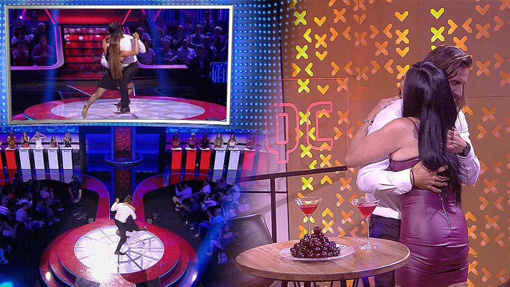 Javier sorprende con un sensual tango y triunfa en su cita con Ana