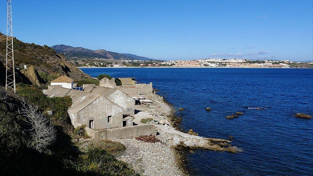 Ruinas de la ballenera de Algeciras