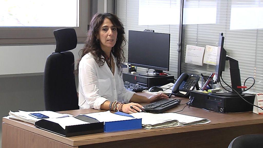 La subinspectora Leila Mohamed, responsable de la oficina integral de Valencia