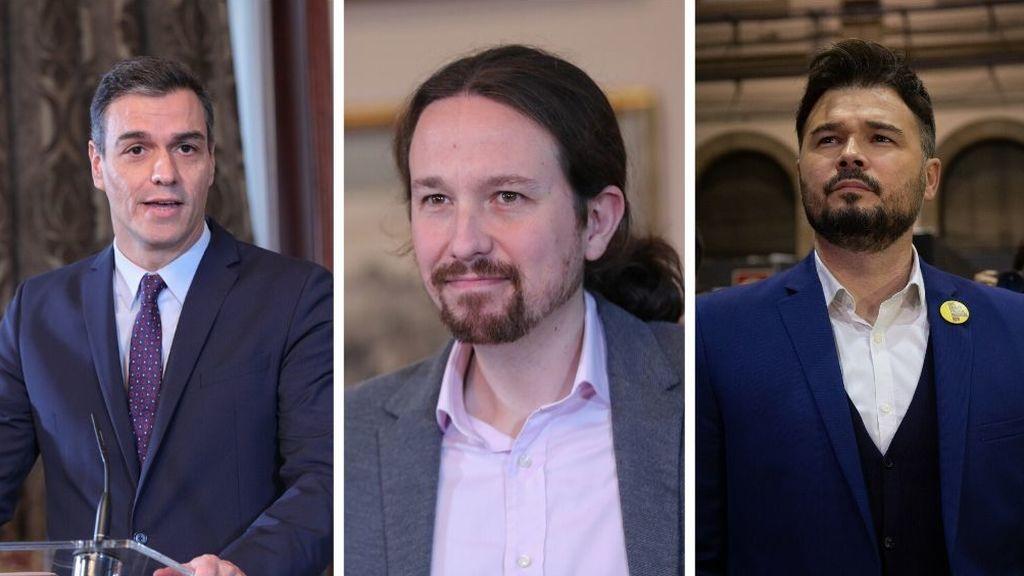 El futuro gobierno de coalición PSOE - Unidas Podemos depende de tres preguntas