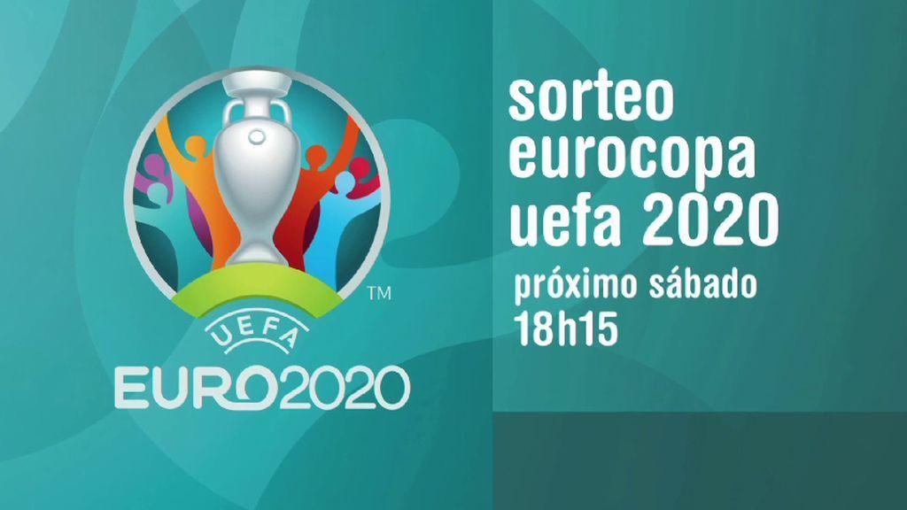 El sorteo de la Eurocopa 2020, el próximo sábado a las 18.15 horas en Cuatro
