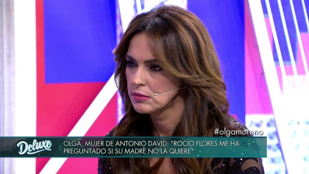 Olga Moreno rompe su silencio