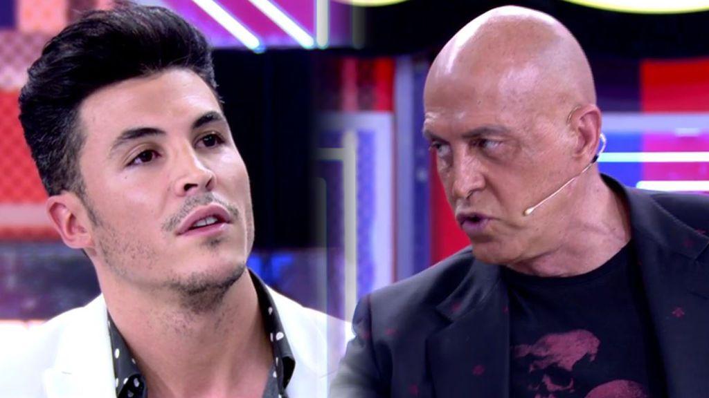 Kiko Jiménez estalla tras la entrevista de Olga Moreno