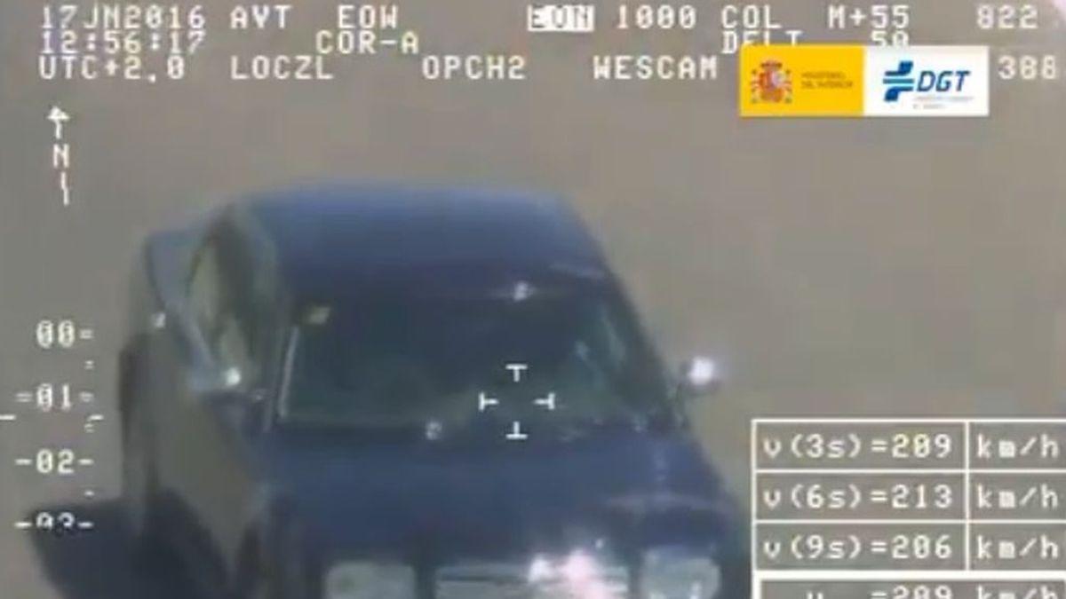 El margen de error de los radares: la velocidad a partir de la cual multan se basa en la regla del 7