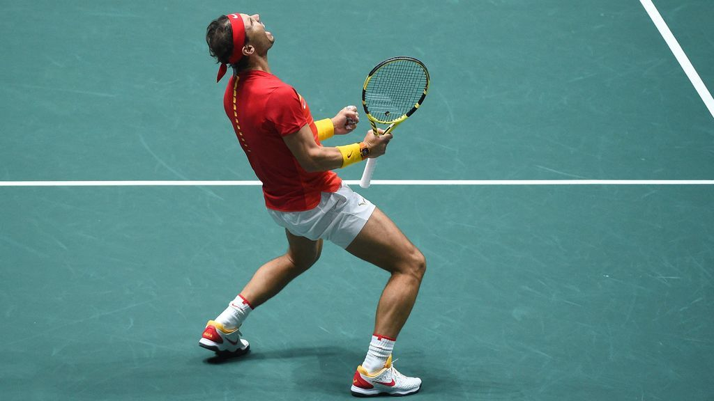 Puntos imposibles y nunca rendirse: Nadal volvió a ser letal en la Copa Davis
