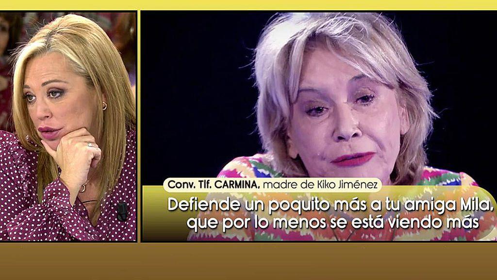 La madre de Kiko Jiménez carga contra Belén Esteban