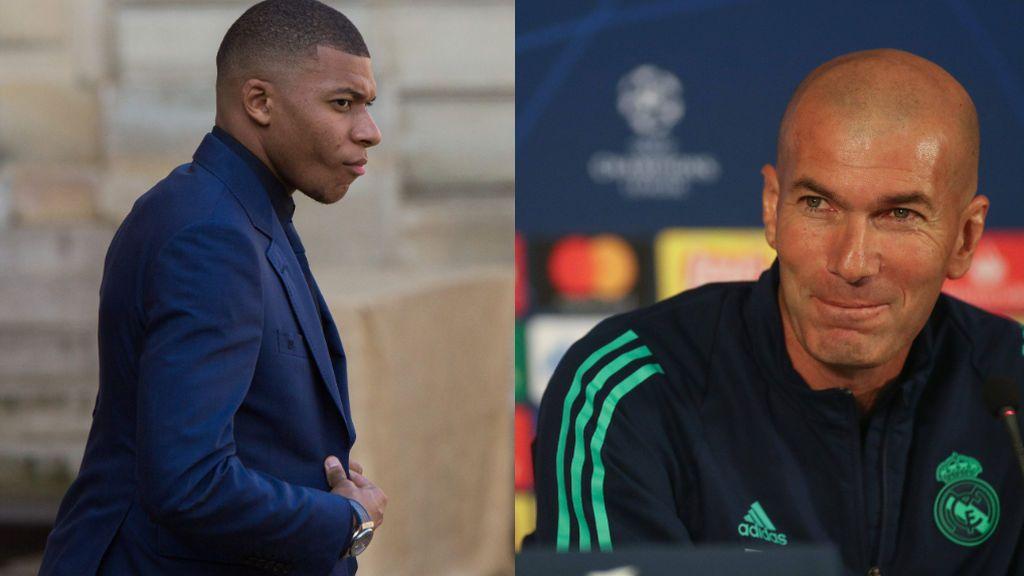 """Zidane confiesa su amor por Mbappé: """"Yo ya estoy enamorado de él desde hace tiempo"""""""
