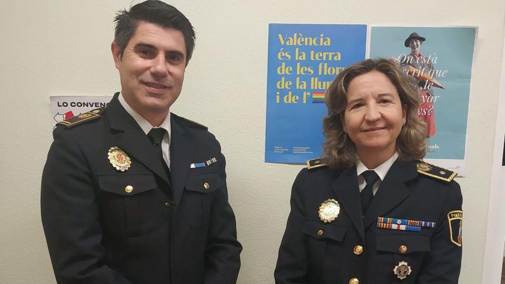 El grupo GAMA de la policía local de Valencia
