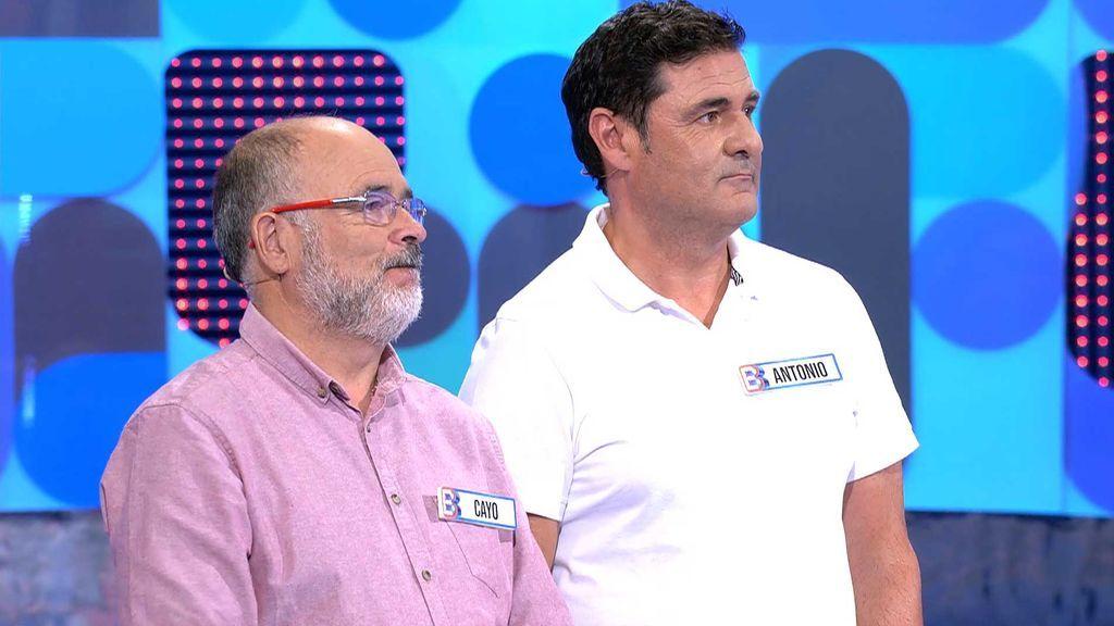 Cayo y Antonio se dejan llevar por su intuición y se llevan 1.000 euros