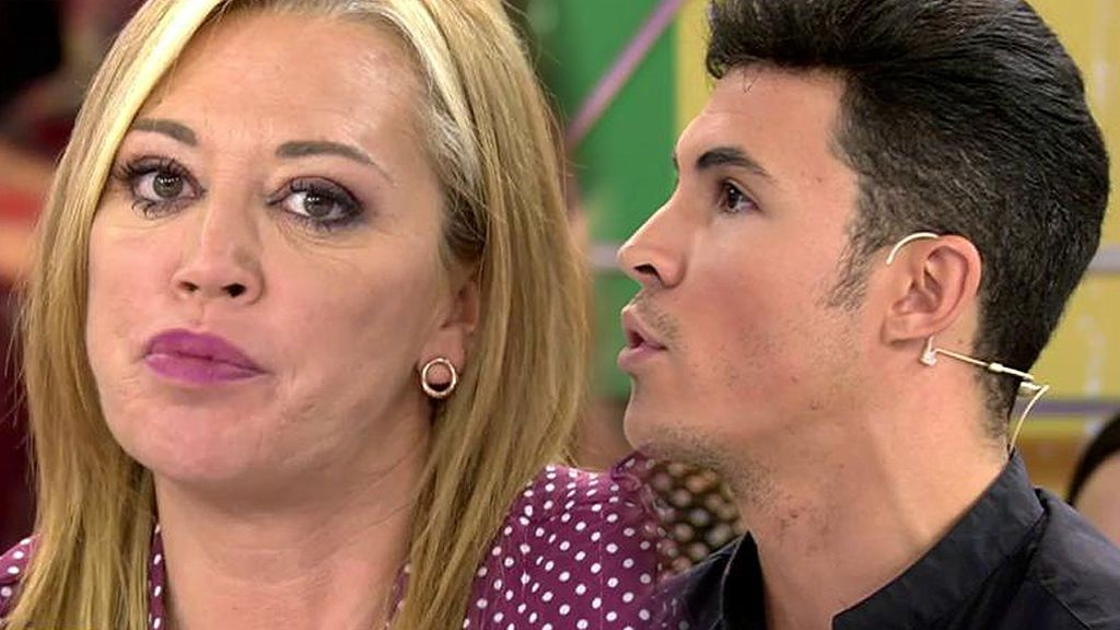 """Kiko Jiménez ascusa a Belén Esteban de darle un """"golpe bajo"""": """"Lo hizo para sacarme de quicio"""""""