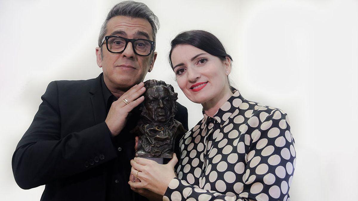 Andreu Buenafuente y Silvia Abril repiten en 2020 como anfitriones de los Goya