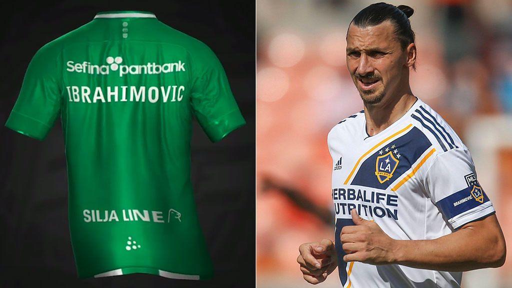 Rumbo a Europa: Ibrahimovic sube a sus redes la camiseta de un equipo sueco