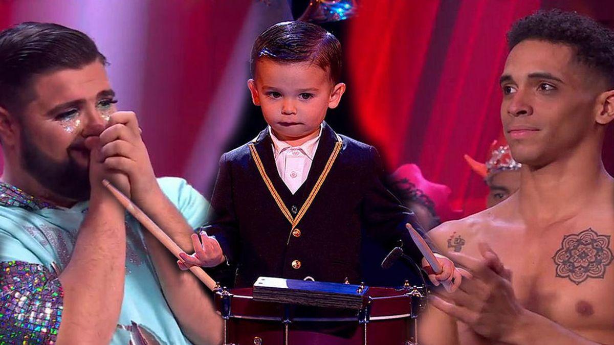 El pequeño Hugo, Hermes y 'Pituyoncé' directos a la gran final de 'Got Talent 5'