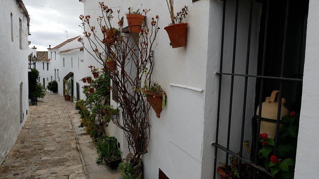 Una calle de Castellar Viejo