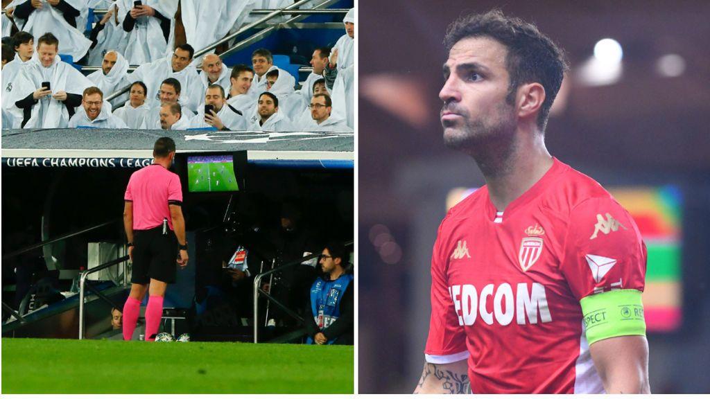 """Fábregas carga contra el árbitro tras pitar falta a Marcelo: """"Ir a verlo a una tele y pitarlo, donde no hay, no hay"""""""