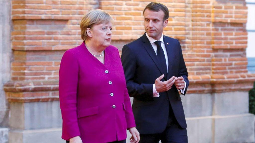 """Merkel defiende la OTAN y asegura que """"Europa es incapaz de defenderse así misma"""""""