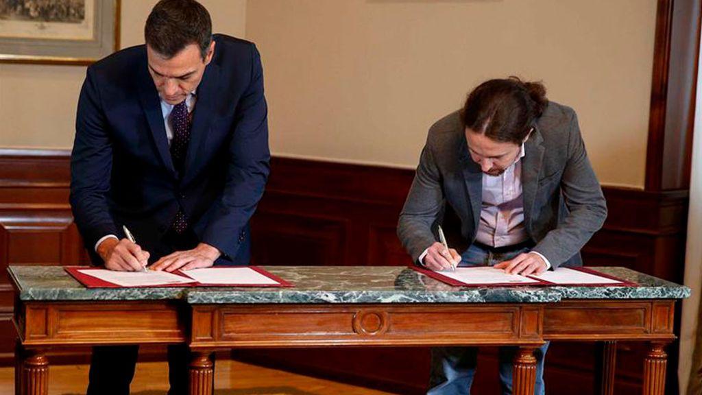 Masivo apoyo de las bases de Unidas Podemos al Gobierno de coalición con el PSOE