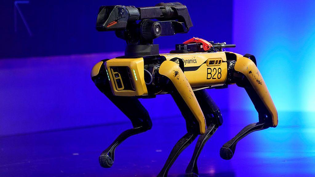 'Spot', el perro-robot de Boston Dynamics se estrena con la policía de Massachusetts