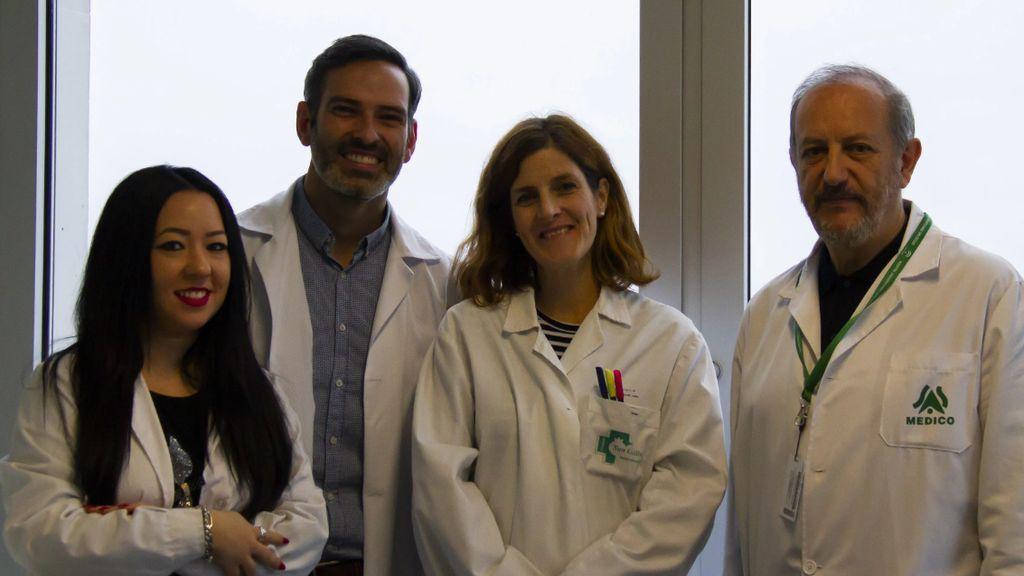 Una imagen de los investigadores que han detectado sustancias químicas en las UCIs de bebés